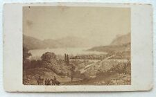 CDV PHOTO ALBUMEN LAC DU BOURGET E94