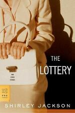 The Lottery and Other Stories, Jackson, Shirley, Acceptable Book