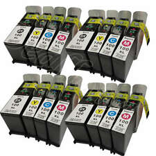 16 PK For Lexmark 100 XL NON-OEM Ink Cartridge4 Set Pro901 Pro905 Pro205 S505