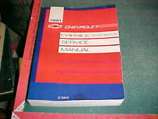 1991 CAPRICE SEDAN & STATION WAGON FACTORY PRINT SERVICE MANUAL very good
