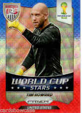 2014 World Cup Prizm World Cup Stars Blue Red Wave No.42 T. Howard (US)