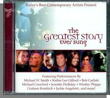 The Greatest Story Ever Sung (2000) - New 11 Song Various Christian Artists CD!