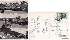 """# Militari -ARTIGLIERIA: """"CARRISTI""""    1952"""