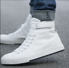 2016 Fashion  Men Spring High Top Canvas Shoes Running Sport Shoes Men Sneakers