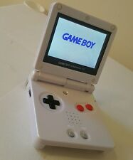 GBA SP AGS 101 CUSTOM MINT GAMEBOY ADVANCE NINTENDO BRIGHTER SCREEN BUNDLE