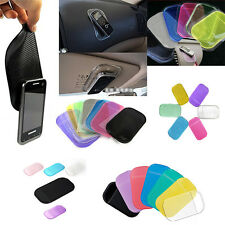 Anti Slip Pad Washable Removable Reusable Sticky Car Pad for Mobile PhonesLAC
