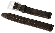 "ORIGINAL SWATCH ARMBAND ""BROWN LEATHER XL - Gent"" (AG0005XL) NEUWARE"