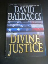 DIVINE JUSTICE by David Baldacci (2008, Hardcover) 1st EDITION book w/ dj