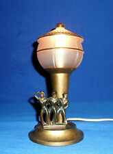 ANCIENNE LAMPE ART DECO DESIGN MARIN PHARE VINTAGE MARINE NATIONALE MATELOT NAVY