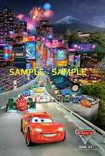 "Pixar Disney Cars 2 movie 11"" X 17""  Poster Type 3 -"