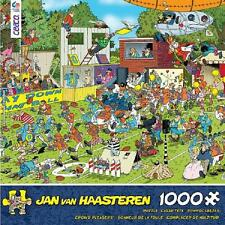 CROWD PLEASERS PUZZLE CHAOS ON THE FIELD JAN VAN HAASTEREN 1000 PCS #3342-23