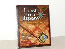 "LOST IN A JIGSAW DIAGONAL MAZE PUZZLE: ""ESCAPE FROM EDEN"" - NEW IN SEALED BOX"