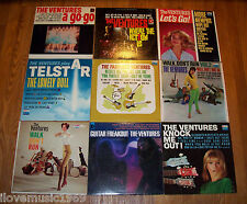 NINE The Ventures DOLTON LPs WALK/TELSTAR/LET'S GO/FABULOUS/KNOCK/A GO/WHERE/FRE
