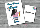 Personalised George Pig Birthday Card A5 LargeName Age Daughter Son Ect
