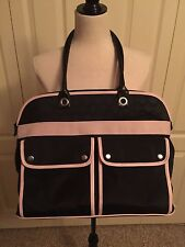 """Mary Kay Black & Pink Consultant Travel Tote Bag Purse Large 18"""" x 14"""""""