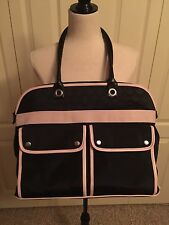 "Mary Kay Black & Pink Consultant Travel Tote Bag Purse Large 18"" x 14"""