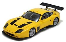 KYOSHO KY08391C Ferrari 575 GTC diecast model sports car yellow body 2004 1:18th