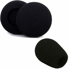 XBOX 360 PS3 HeadPhone Repair Kit Headset 2 x Ear Pad 40mm 1 x Micrphone Cover