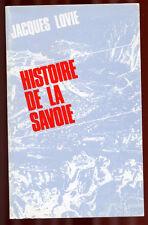 JACQUES LOVIE, HISTOIRE DE LA SAVOIE