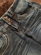 Women's Junior YMI Stretch Denim Capri Jeans Size 0