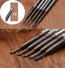 Long Lasting Waterproof Eye Brow Eyeliner Eyebrow Pen Pencil With Brush 3# HB87