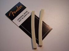 Genuine FENDER Curved BONE NUT Blanks Cyclovac Vintage