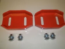 (Set of 2)  Ariens Snowblower shoe skids reversable with hardware replaces 24599