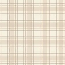 I Love Wallpaper Tartan Designer  Wallpaper Neutral / Beige / Cream Scottish