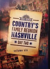 Country's Family Reunion NASHVILLE DVD! Day Two, Volume Six! FREE SHIPPING! Z5