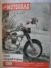 Zeitschrift Das Motorrad Nov1960 Seitenwagen Steib Hercules K101 Kreidler 1000km