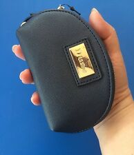 Dune Half Moon Shaped Coin Purse Wristlet With 2 Compartments & 1 Key Ring - New