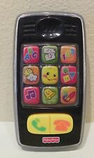 Fisher-Price Laugh & Learn Smilin' Smart Phone, Black