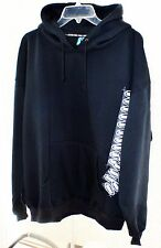 Real Skateboards Hoodie Pullover Black X- Large Size