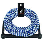 AIRHEAD Water Ski Rope 1 Section 75' AHSR-75 Blue w/ Handle NEW
