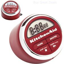 Chef's Cookware Kitchenaid Classic Digital Timer Red Bar Kitchen New Dining Home