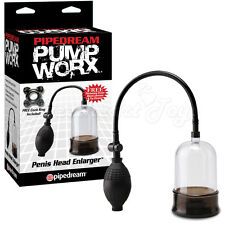 Penis Head Enlarger Pump Worx Increased Penis Size Endurance Cock Ring Included