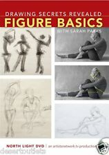 NEW! Drawing Secrets Revealed: Figure Basics with Sarah Parks [DVD]