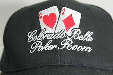 Black Colorado Belle Poker Room Baseball Cap Snap-Back Hat
