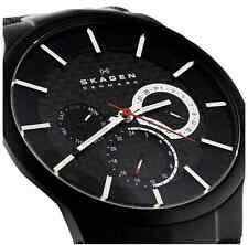SKAGEN MEN'S ULTRA SLIM TITANIUM CHRONOGRAPH WATCH 809XLTBB