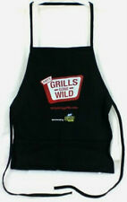 DIRTY GRILLS GONE WILD  BBQ Barbeque Apron Black For Girls or Men New