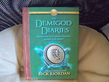 The Demigod Diaries by Rick Riordan (2012, Hardcover) EUC