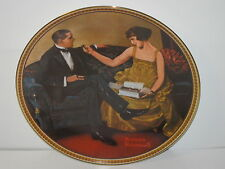 Edwin Knowles Rockwell's Rediscovered Women Flirting in the Parlor Mib Coa