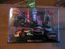 DISNEY PIXAR CARS 2 FRANCESCO BERNOULLI CHASE   W/ CASE  DISNEY STORE EXCLUSIVE