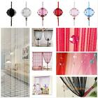 Beauty Tassel String Curtain Beads Wall Panel Room Decor Door Window Divider