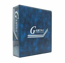 4 x Saf-T-Gard 3 Inch Magic Yu-Gi-Oh GAMING CARD BLUE ALBUM BINDER AL3-2B