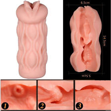 4D Flesh Light Style Vaginal Masturbator Male Masturbators Adult Sex Toys