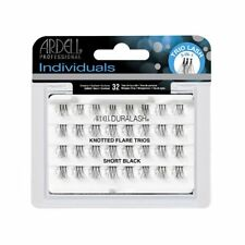 Ardell DURALASH Knotted Flare Trios SHORT Individual Lashes Flair Black