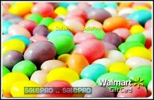 WALMART 2013 EASTER MINI EGGS COLORFUL PASTEL JELLY BEANS COLLECTIBLE GIFT CARD