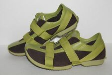 Pony 1600M Casual Trainers, #702100010027, Brown/Green, Women's US Size 10