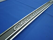 New 1965 Chevrolet Impala SS Rear Trunk Panel Molding With Emblems 3870838